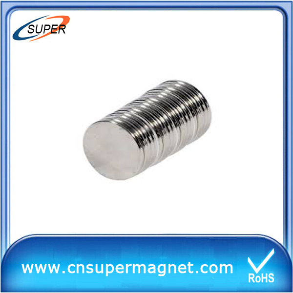 High Grade 20*5mm Neodymium Disc Magnet