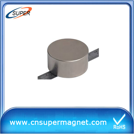 D60*30mm Neodymium Cylinder Magnets/Strong Neodymium Cylinder Magnets