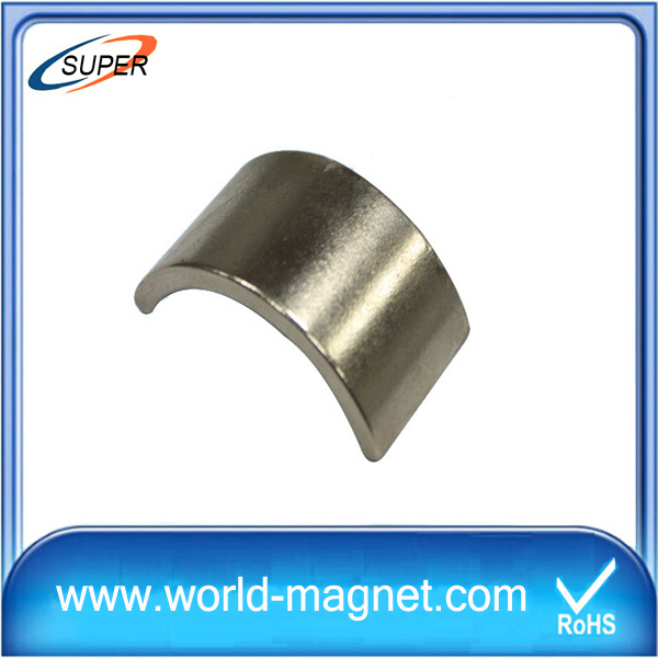 Customized Rare Earth Arc Neodymium Magnet