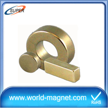 2016 Customized Big Neodymium Ring Magnet