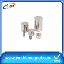 Permanent Rare Earth N35-N52 Cylinder Magnet